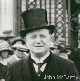 McCarthy John head at Palace