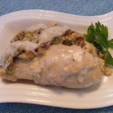 Stove Top Stuffed Chicken Breasts