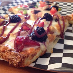 Try the Fruity Chick pizza!