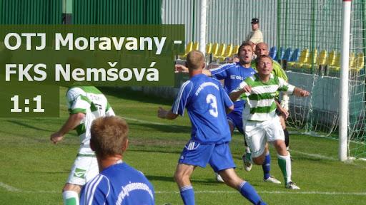 OTJ Moravany - FKS Nemšová 1:1