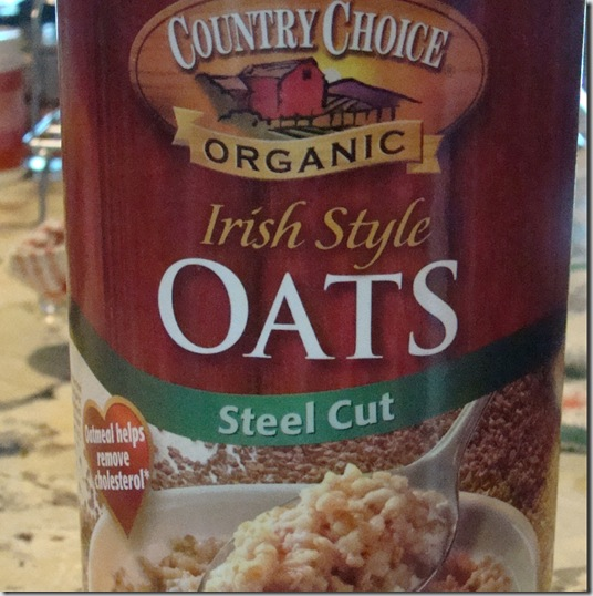 Judy's Kitchen: HOW TO COOK STEEL-CUT OATS