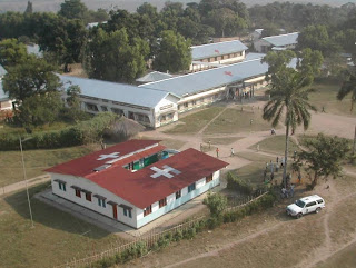 – Hôpital général de Kabinda. Photo cap-sante.org.