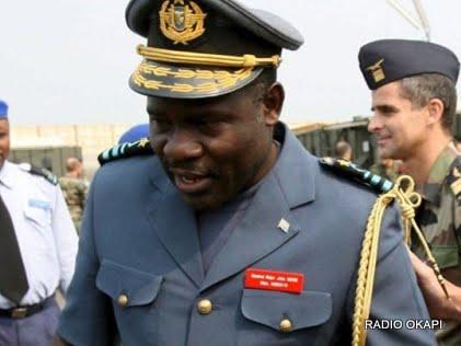 Le général suspendu John Numbi, 24 janvier, RDC