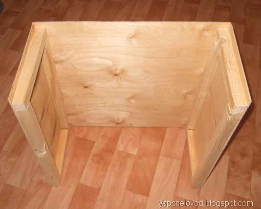 Для крепления каждой из сторон стенок используйте по 4 самореза