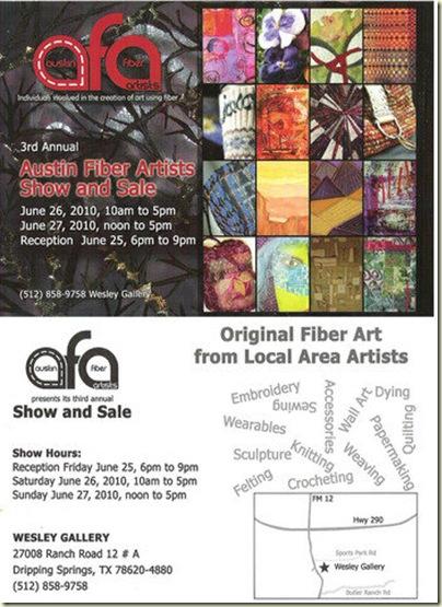 2010 Austin Fiber Artists 3rd