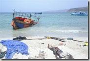 La traversée du golfe d'Aden est souvent mortelle