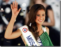Malika Meinard, Miss France 2010. Photo Reuters.