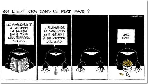 racalbuto belgique burqa