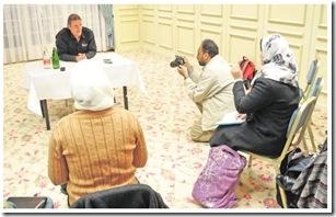 osKar et les journalistes arabes