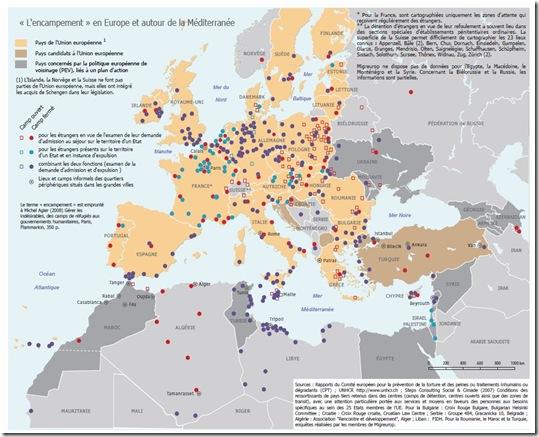 camp en europe
