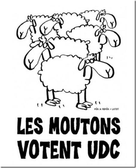 mix&remix les moutons votent udc