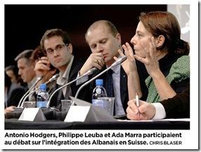 débat intégration albanais suisse