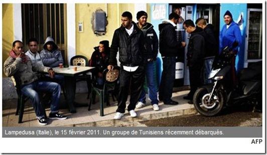 lampedusa tunisiens