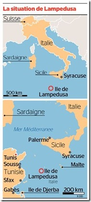 lampedusa situation infographie