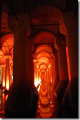 Turkia 2009 - Estambul - Cisterna de Yerebatan - 176