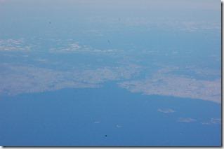 Turkia 2009 - Estambul desde el avion  - 561