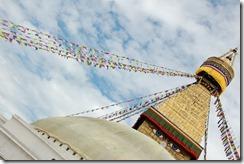 Nepal 2010 - Kathmandu ,  Estupa de Bodnath - 24 de septiembre  -    12