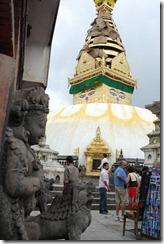 Nepal 2010 -Kathmandu, Swayambunath ,- 22 de septiembre   22