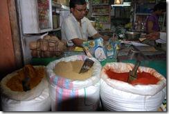 India 2010 -  Jaipur , paseo nocturno por el mercado , 15 de septiembre   75
