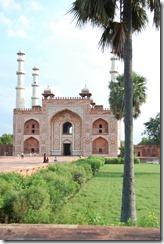 India 2010 - Agra -Sikandra, mausoleo de Akbar , 17 de septiembre   15