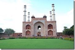 India 2010 - Agra -Sikandra, mausoleo de Akbar , 17 de septiembre   05