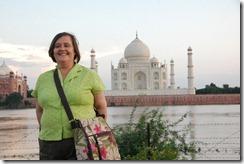 India 2010 - Agra , Taj Mahal , desde el rio , 17 de septiembre   21