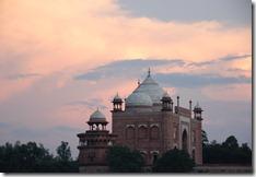 India 2010 - Agra , Taj Mahal , desde el rio , 17 de septiembre   23