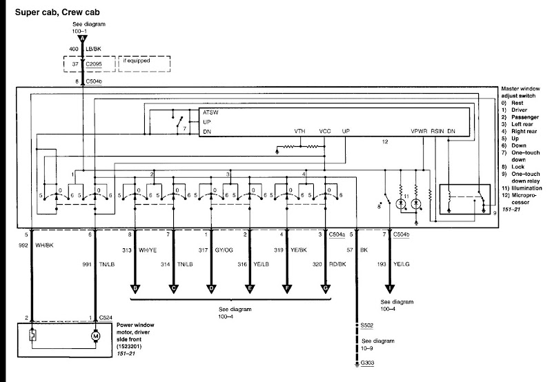 ford f150 window wiring diagram wire center \u2022  2006 f150 wiring diagram wire center u2022 rh girislink co 2000 ford f150 power window wiring diagram 2005 ford f150 window wiring diagram