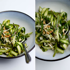Asparagus Salad With Sesame Chili & Lime Dressing