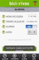 Screenshot of Bici n Rivas