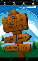 Screenshot of iFish USA
