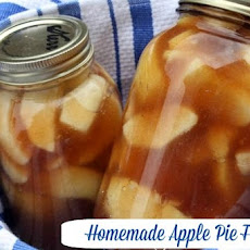 Apple Pie Filling in a Jar