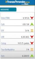 Screenshot of Finanzas Personales
