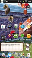 Screenshot of football ball rugby LWP