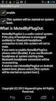 Screenshot of MutedByPlugOut