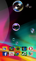 Screenshot of Bubble Top Live Wallpaper