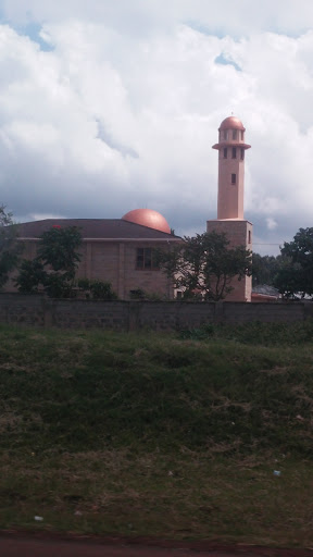 The Orange Mosque