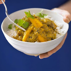 Creamy Chicken & Mango Curry