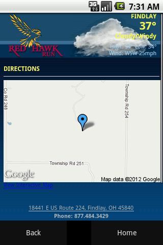 旅遊必備APP下載|Red Hawk Run Golf Course 好玩app不花錢|綠色工廠好玩App