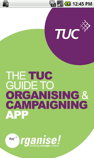 TUC Organising Campaigning