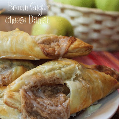 Brown Sugar Cheese Danish