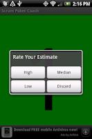 Screenshot of Scrum Poker Coach Free