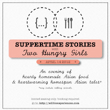 Suppertime Stories with Two Hungry Girls