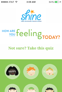 SHINE Support for Children - screenshot