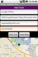 Screenshot of GPS Tracker Pro