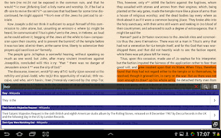 Screenshot of EBook Reader