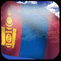 3D Mongolia Flag
