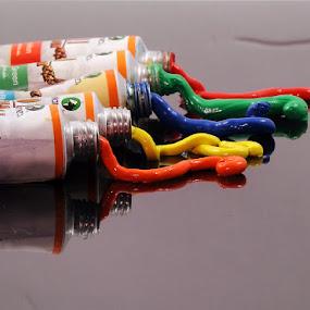 Oil Colours by Viryawan Vajra - Artistic Objects Other Objects ( oil colours, artistics )