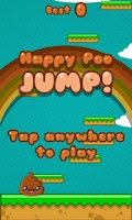 Screenshot of Happy Poo Jump