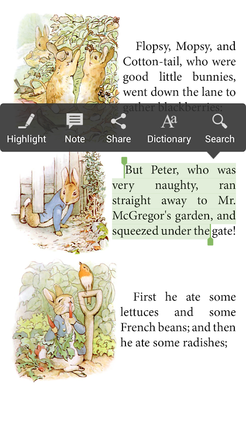 Aldiko Book Reader Screenshot 5